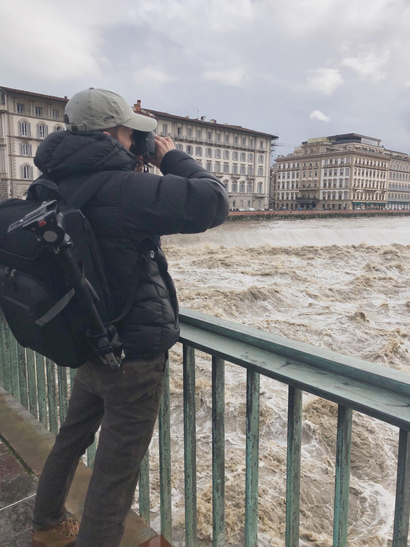 Tommaso Beni riprese Arno 2019