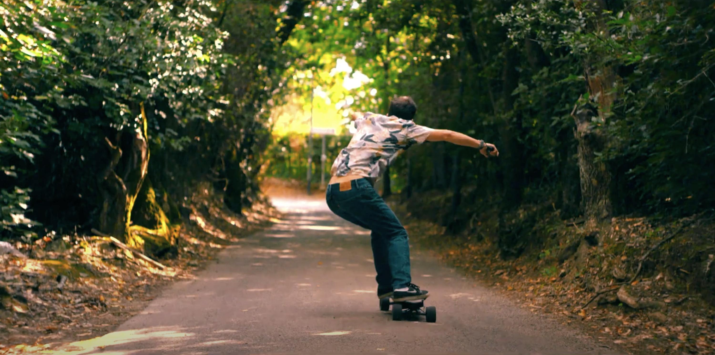 Tommaso Beni in un video di Mattia Holm per MAXFIND skateboard
