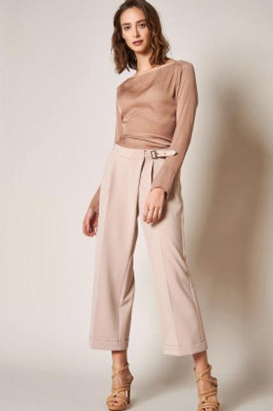 ROSNER pantalon large 7/8