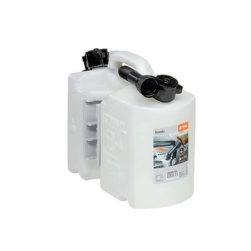 Fuel / oil combi can