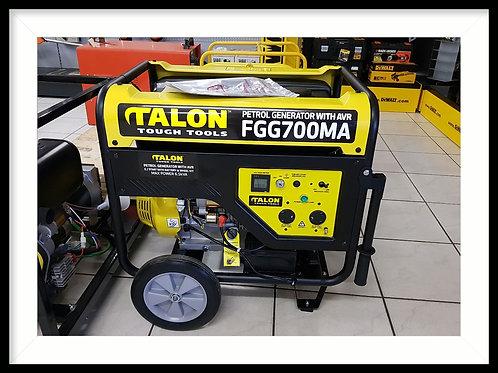 TALON 6.5kva petrol generator