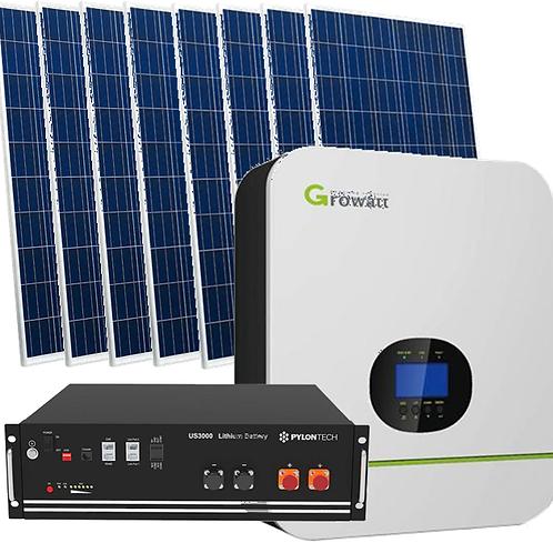 5kw Off-grid solar energy kit - Code 09801955