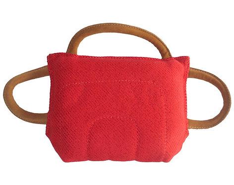 Bite Pillow (travesseiro) em tecido de bite suite com 3 alças