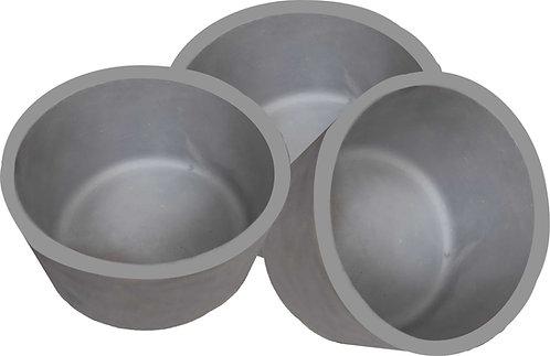 Comedouro / Bebedouro em Aluminio Fundido G