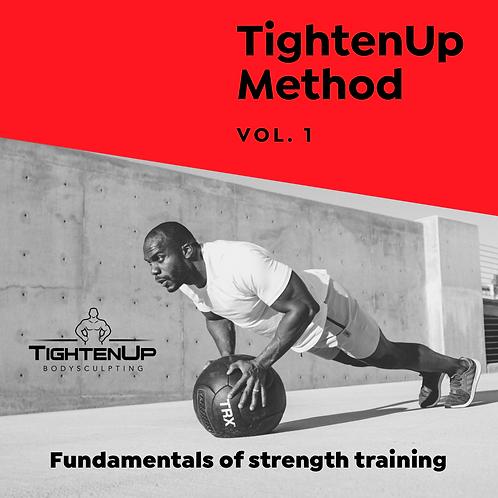 TU Method Vol. 1 Fundamentals of Strength Training