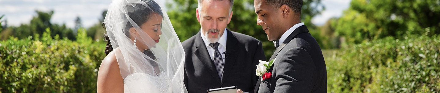 Personalized wedding officiant