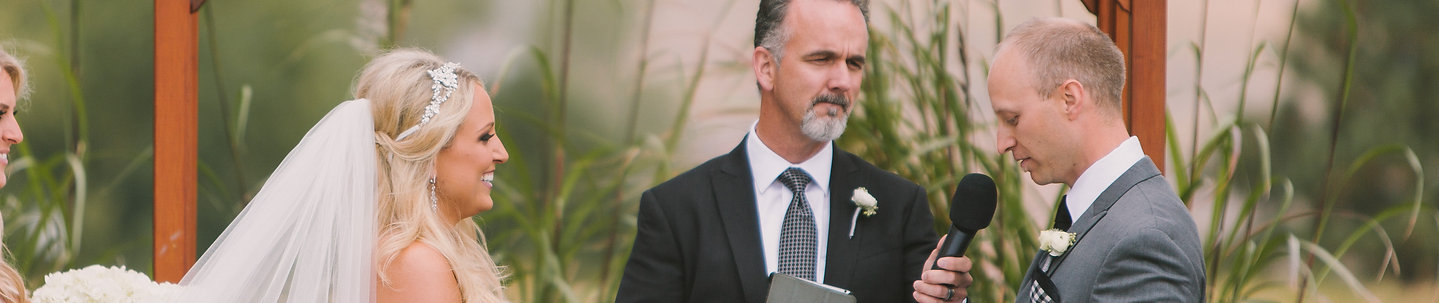 Personalized wedding officiant Denver Colorado area