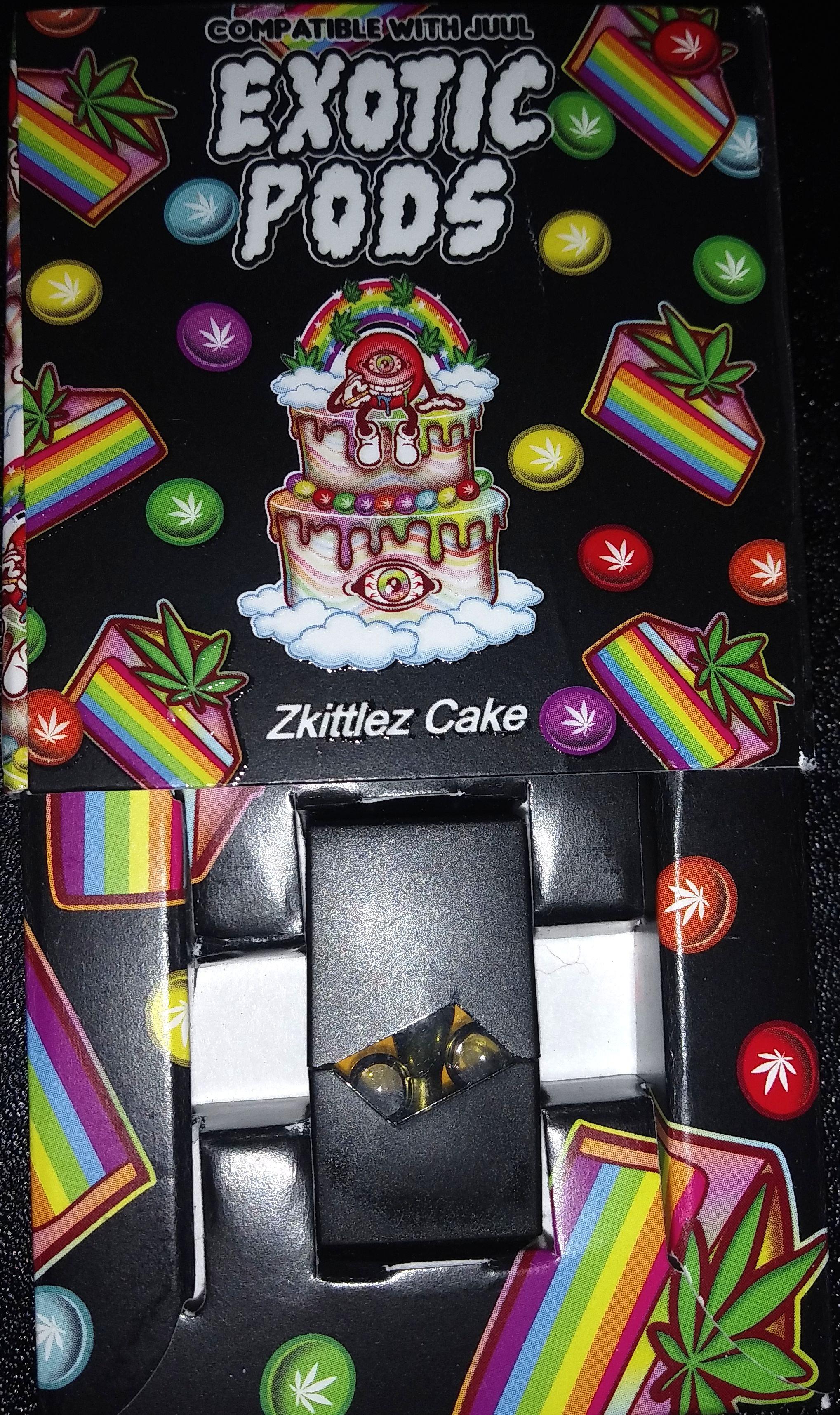 Skittles Cake Exotic Pods Home Birthday Juul