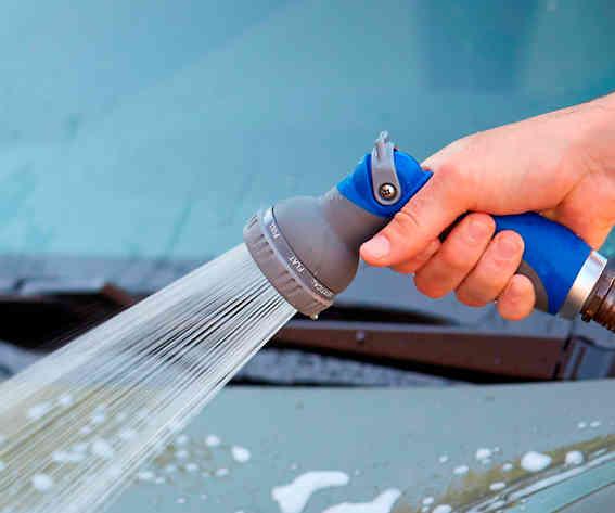 Heavy Duty 8-Pattern Thumb Control Spray Nozzle