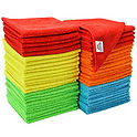 Microfiber Cloths, 50 Pack