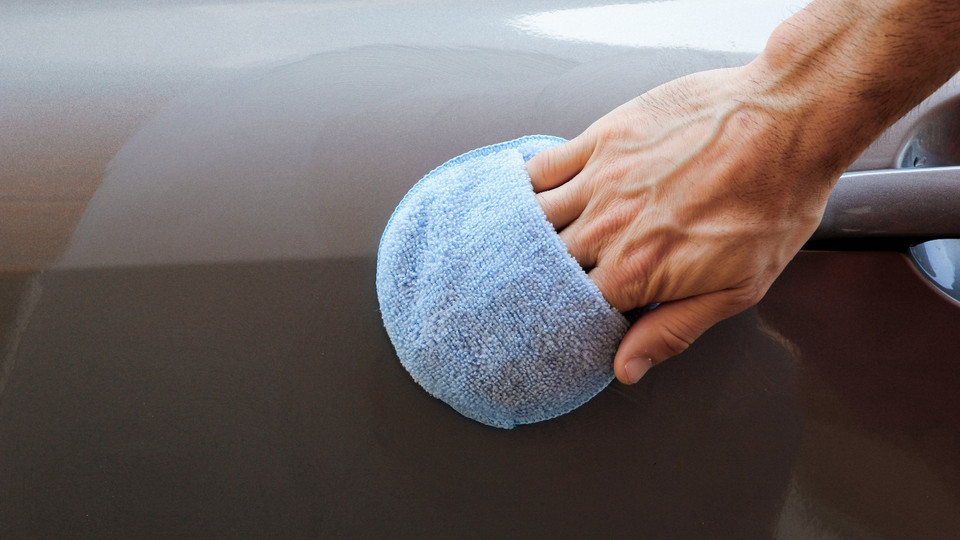 Microfiber Applicator Pads with Finger Pockets