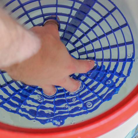 Bucket Insert Grit Trap