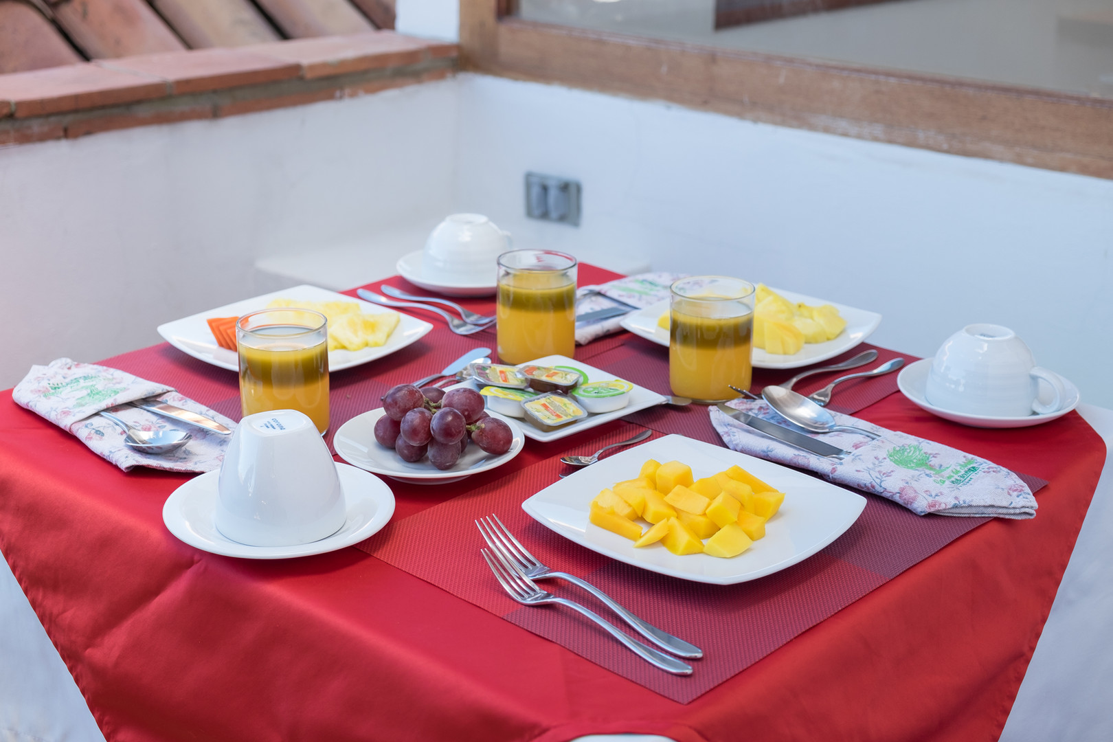 Desayuno terraza