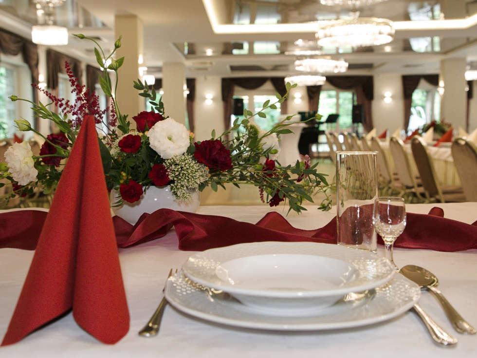 Sala balowa na wesela i eventy w Hotelu Walcerek, aranżacja ślubna