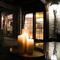Świeczki i nastrojowe dekoracje - Hotel Walcerek, Jarocin
