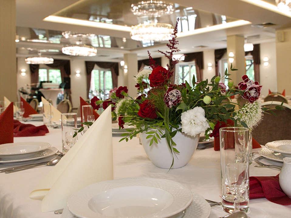 Sala balowa na wesela i eventy w Hotelu Walcerek, dekoracje ślubne