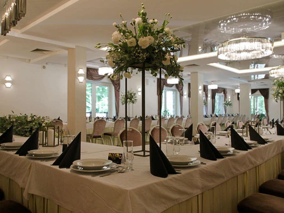 Sala balowa na wesela i eventy w Hotelu Walcerek, dekoracje weselne