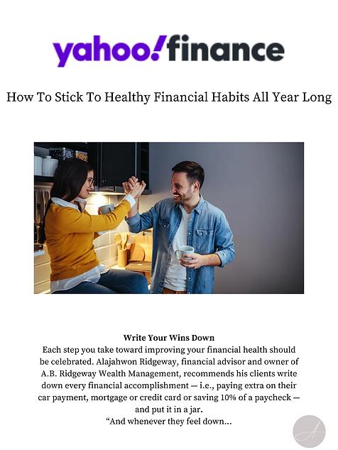 a.b. ridgeway wealth management healthy