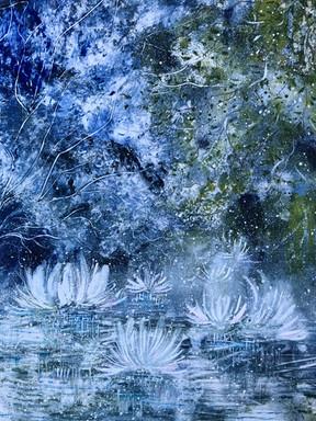 """""""The Garden Pond"""" by Liz Hart"""