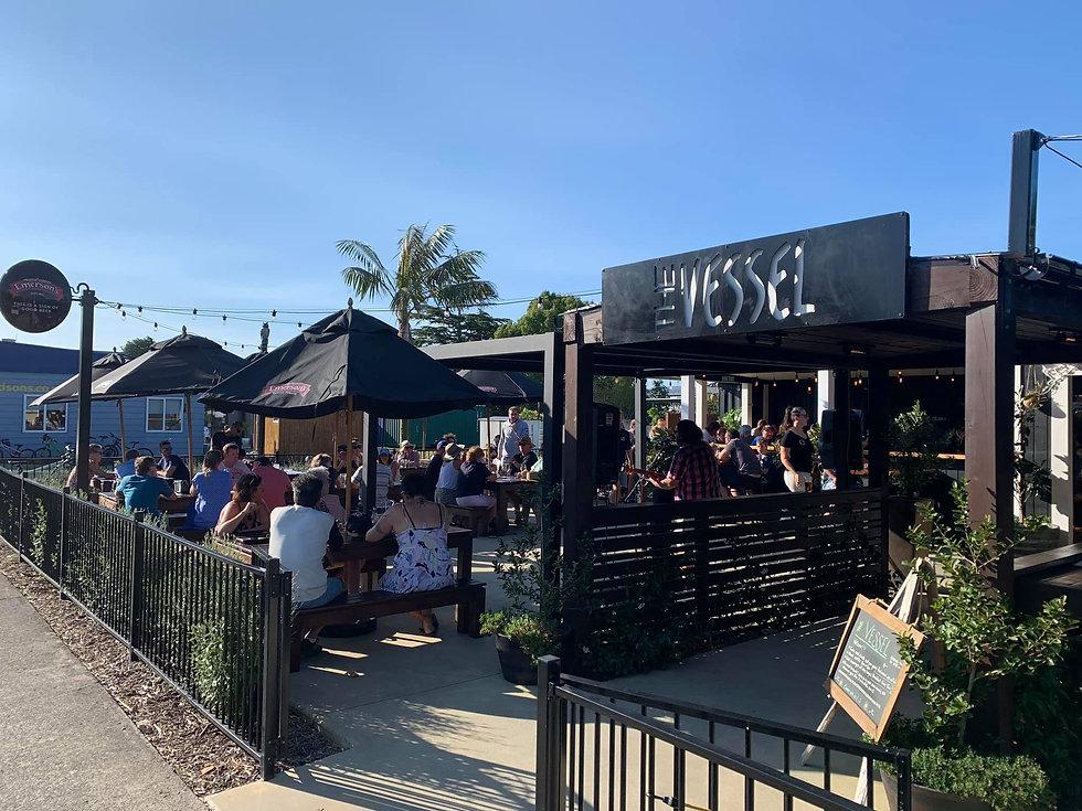 The Vessel Bar & Restaurant at Cooks Beach, Coromandel Peninsula