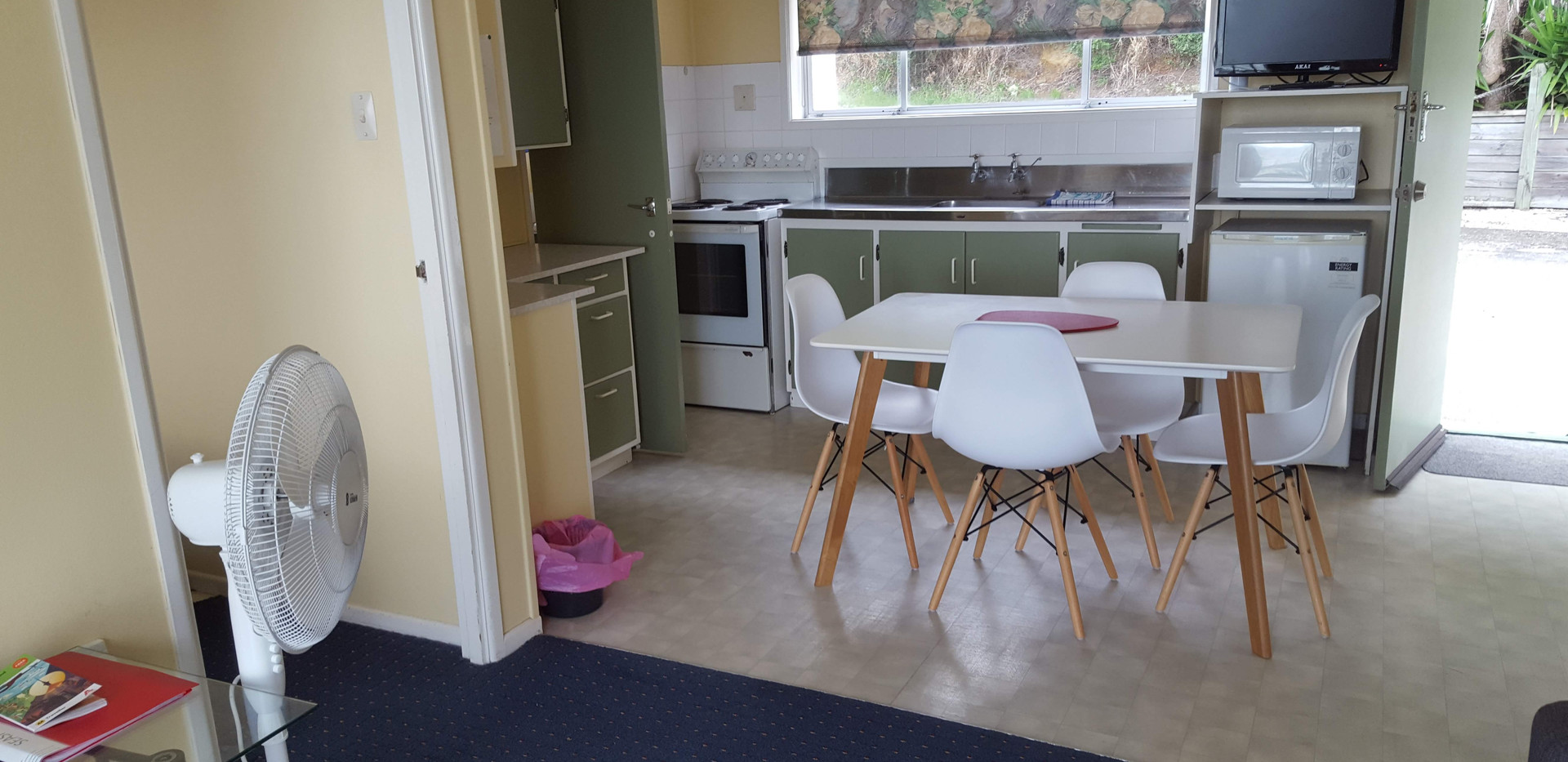 1960s kitchen in a one bedroom unit