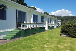 Our Seaspray Motel, vintage 60s motel right by the beach