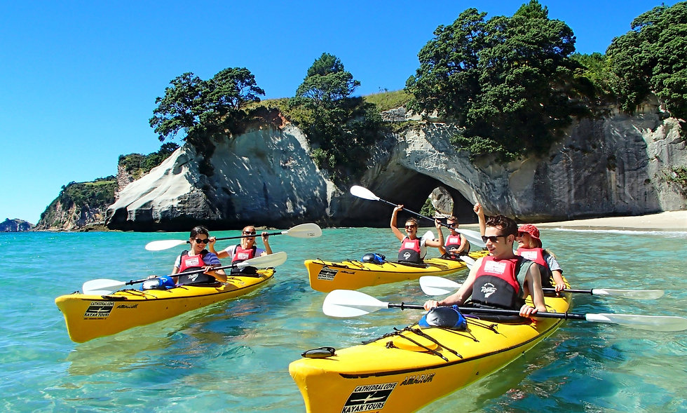 Cathedral Cove Kayak Tours, Coromandel Peninsula.