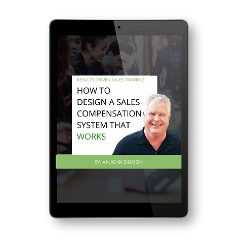 How to design a sale compensation system