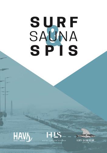 SURF, SAUNA & SPIS