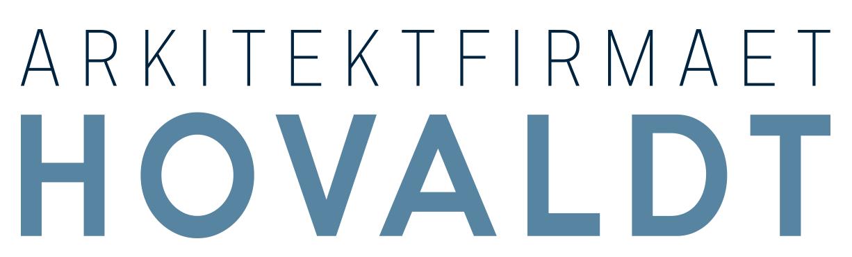 Logo til Arkitektfirmaet Hovaldt