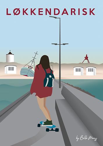 Skater Girl by Bella Maass
