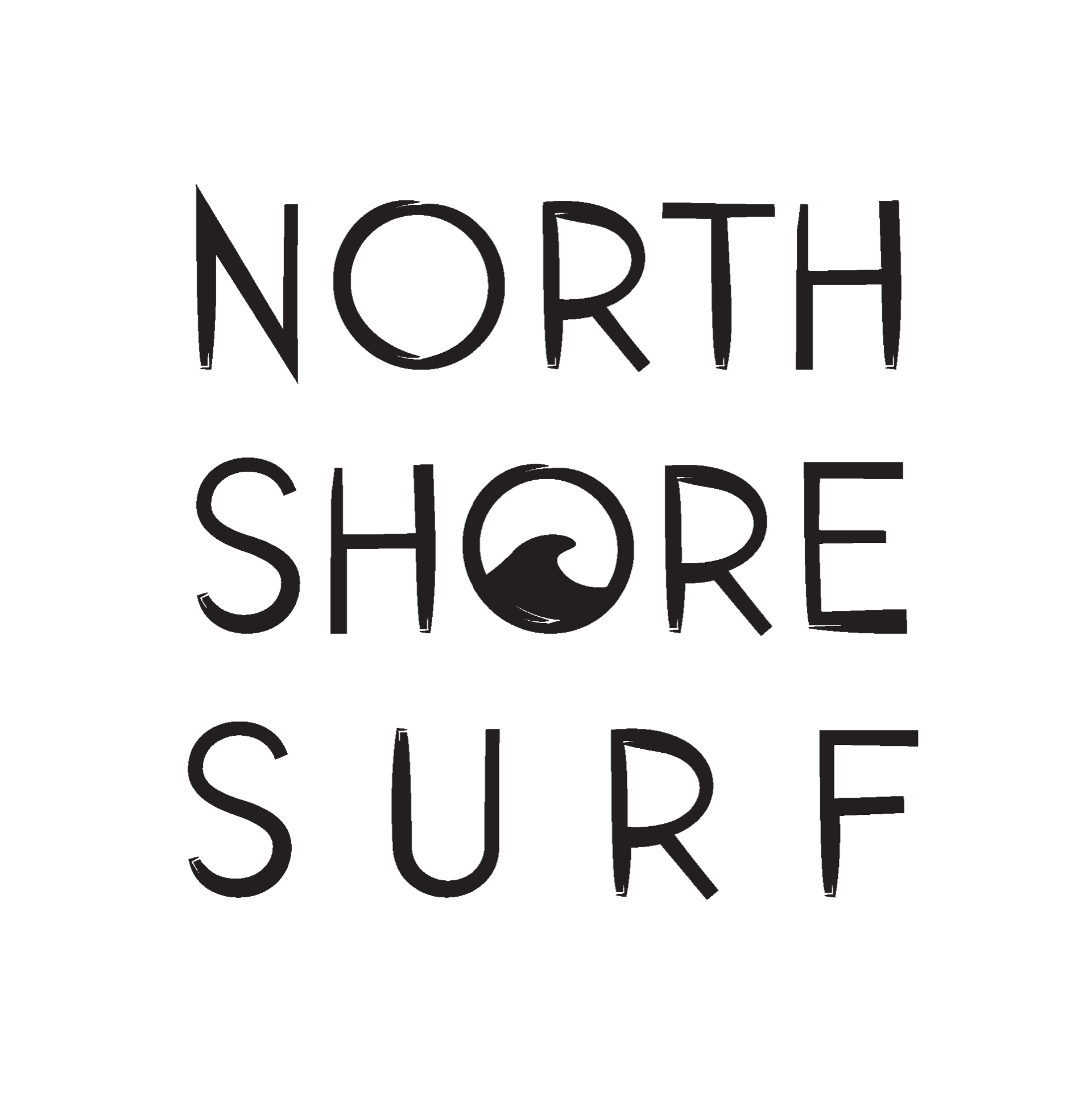 North Shore Surf Motiv