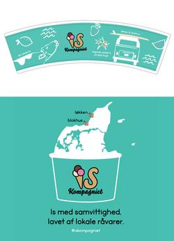 IS Kompagniet - Ice cream cup + t-shirt