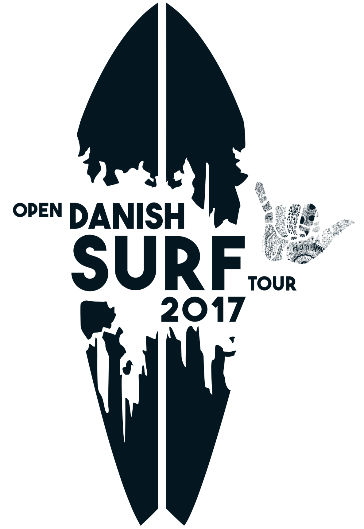 Logo til Danish Surf Tour fra 2014