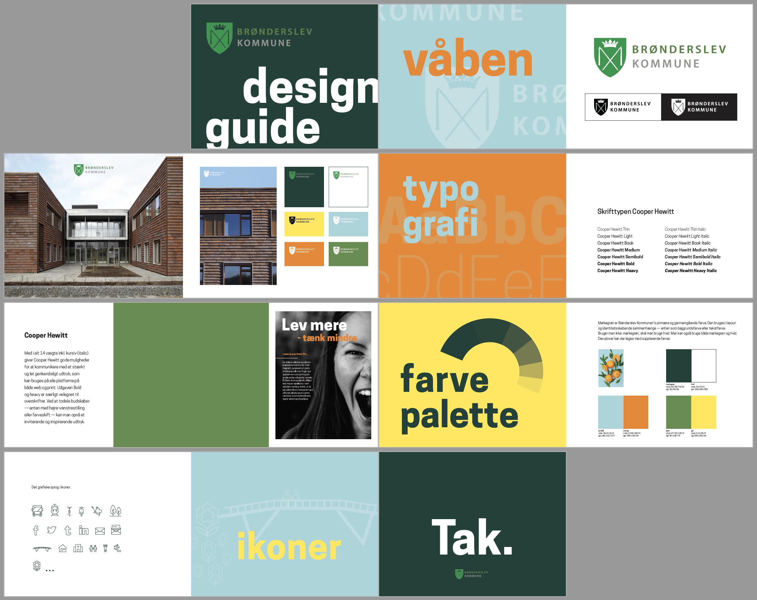 Ny Designlinje til Brønderslev Kommune