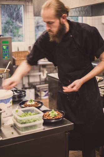Ricco i HAVS' køkken