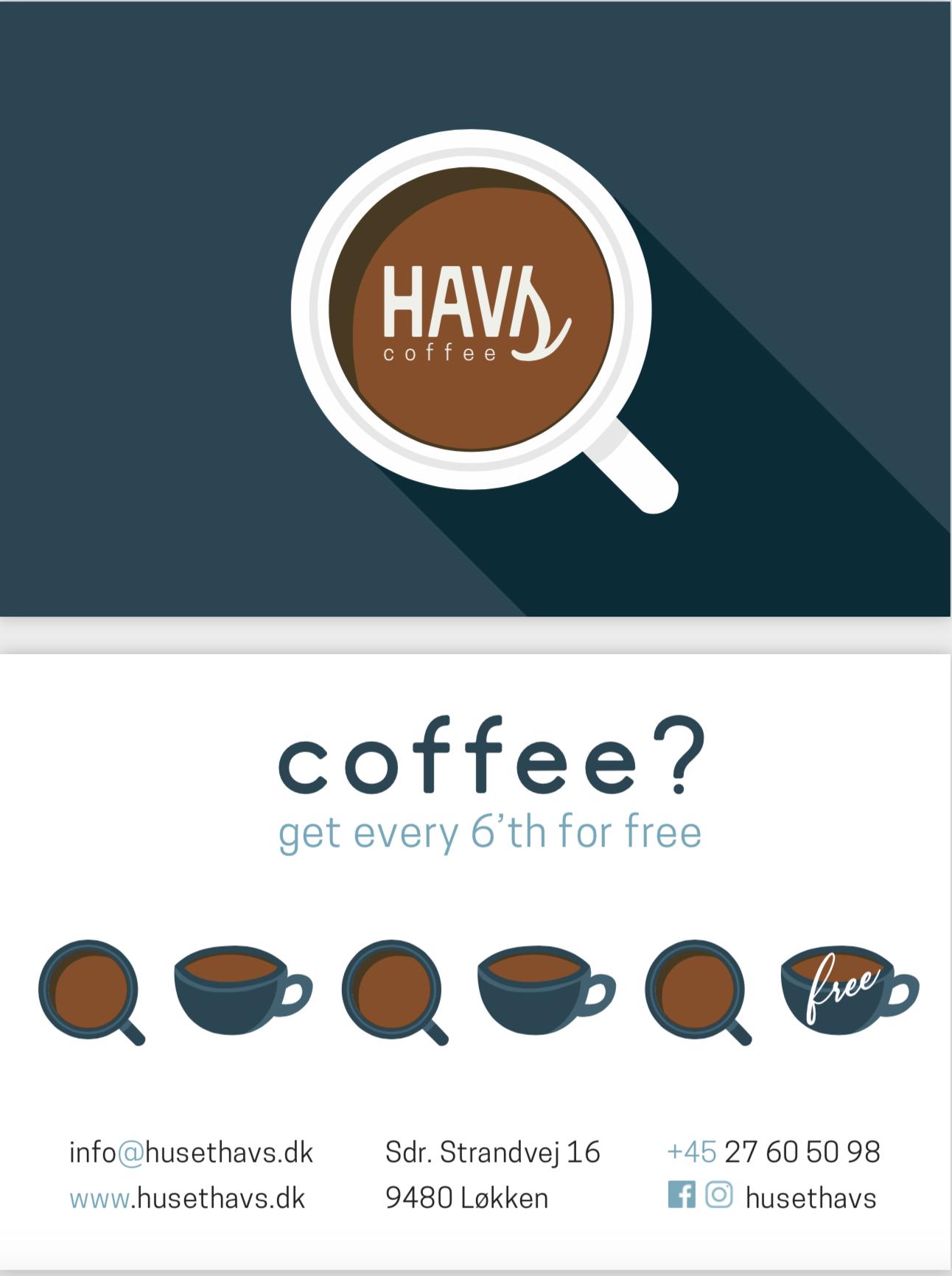 Kaffe Klipkort