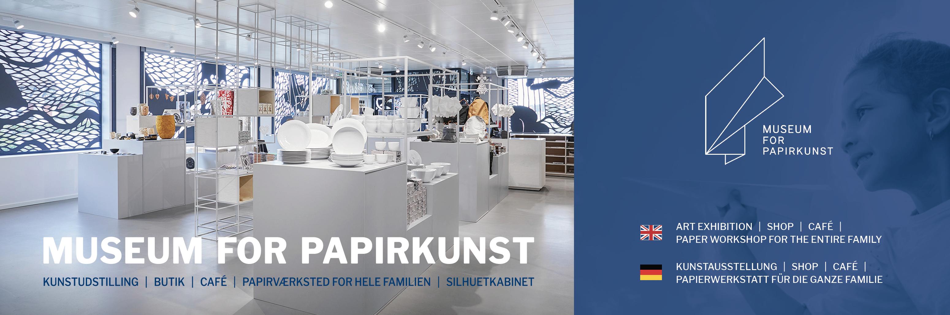 Banner - Museum For Papirkunst