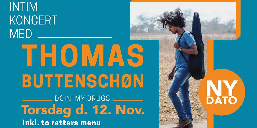 UDSOLGT - Intim koncert med Thomas Buttenschøn NY DATO KOMMER