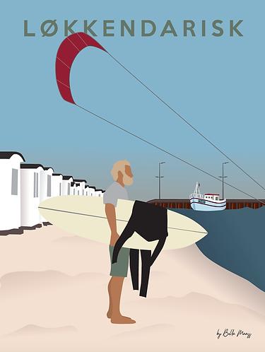 Surfer by Bella Maass