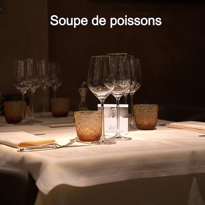 """Soupe de poissons et rouille """"Le litre"""""""