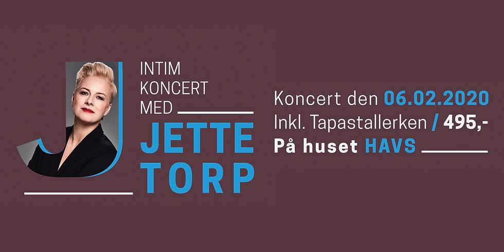 UDSOLGT - Intim koncert med Jette Torp