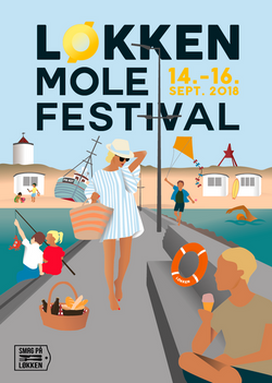 Loeken Molefestival Plakat