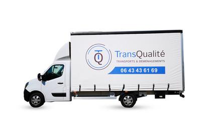 signalétique logo véhicule TransQualité