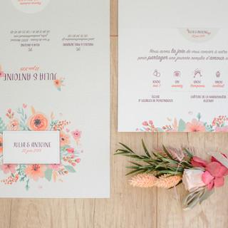 faire-part mariage ©cedricderrien