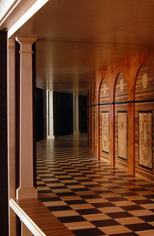 wenge cabinet mirrored interior