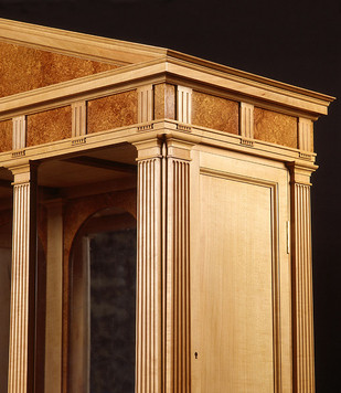 Palladian cabinet detail