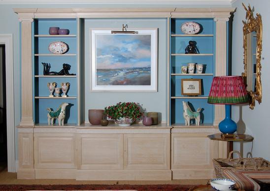 limed oak bookcase.JPG