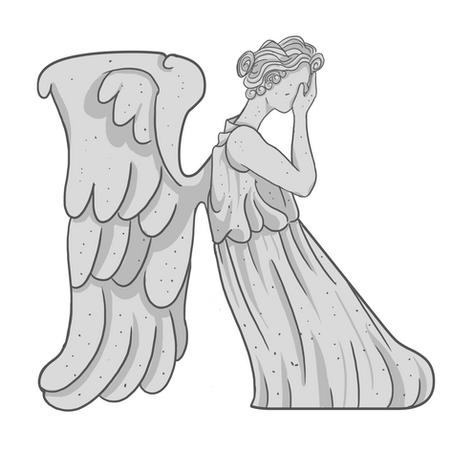 K - Weeping Angel