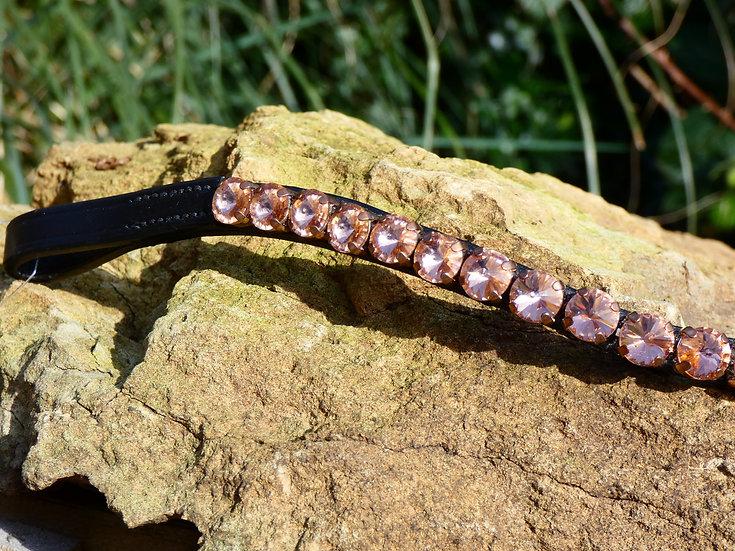 Rosegold Crystal Browband